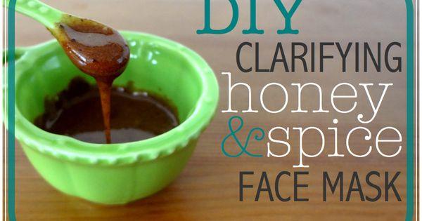 DIY clarifying honey & spice face mask by Body Unburdened! Honeyrecipies