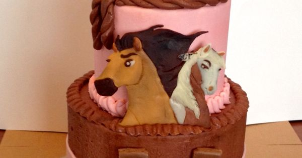Spirit Cake Horse Cake Birthday Cake Idea Pinterest