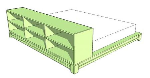 Diy Platform Bed Another Idea Make Your Own Headboard