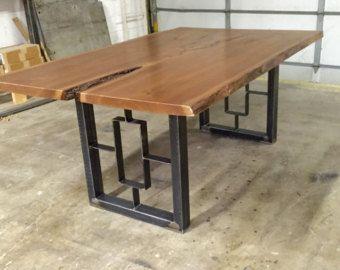 Turned A Shaped Modern Steel Base Design Steel Table Legs 2