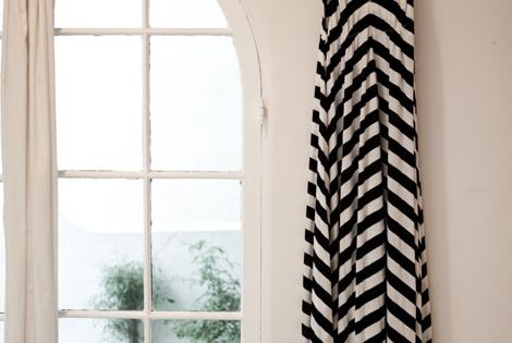 Love this Chevron maxi dress!
