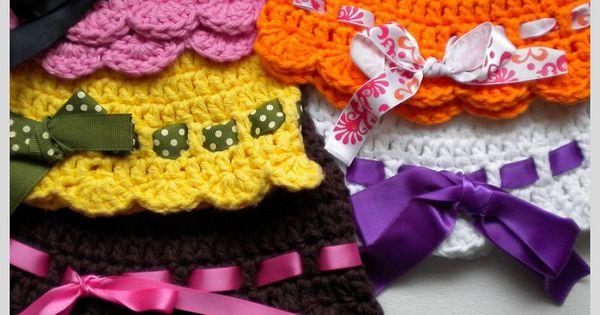 Via Marcia . Baby flapper girl hat free crochet pattern