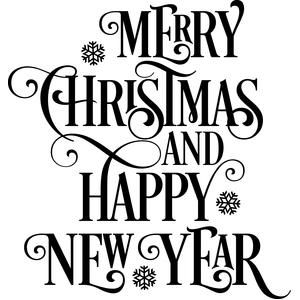 Stencil We Wish You Merry Christmas Shabby Vintage style font Primitive Signs