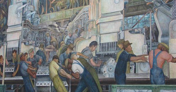 Diego rivera mural detroit institute of arts detroit mi for Diego rivera mural detroit