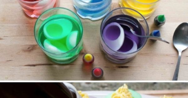 Colorful Deviled Eggs, Easter idea?