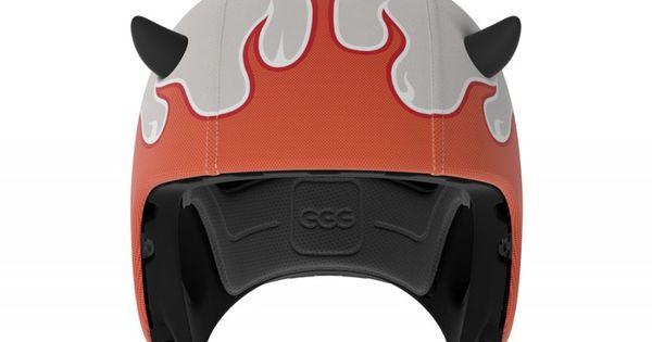 Demon Egg Helmets Casques Cascos Pinterest
