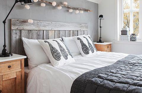 guirlande lumineuse au dessus du lit ambiances r taises pinterest guirlande lumineuse. Black Bedroom Furniture Sets. Home Design Ideas
