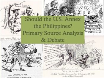 U S Imperialism In The Philippines Source Analysis Debate