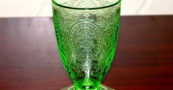 Rare indiana glass patterns rare indiana glass green for Most valuable depression glass patterns