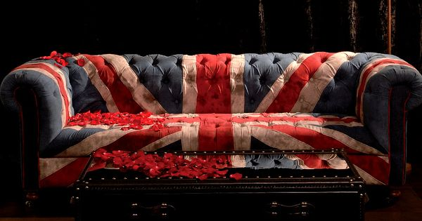 British Flag Couch For The Home Pinterest British