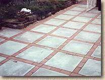 brick patios concrete patio