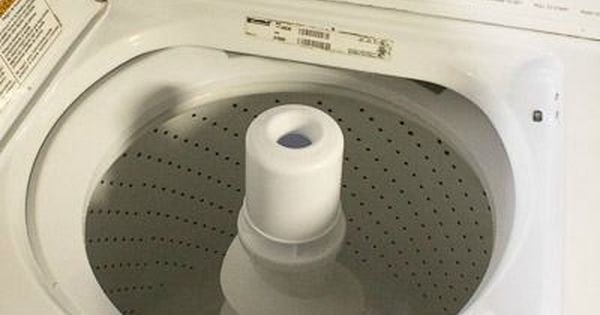 how to clean the scum buildup in a washing machine
