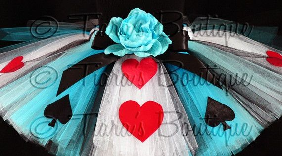 Alice in Wonderland Tutu (Halloween idea)