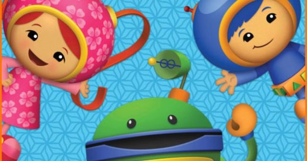 Team Umizoomi and Bot Edible Cake Topper by TwoSweetCakeImages, $8.99