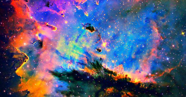 PacMan Nebula in Narrowband space pacman nebula narrowband