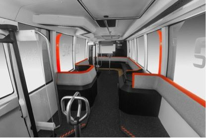 India S Smart City Plans Spawn Innovative Ultra Electric Bus Concept From Tata Bus Interior Smart City Bus
