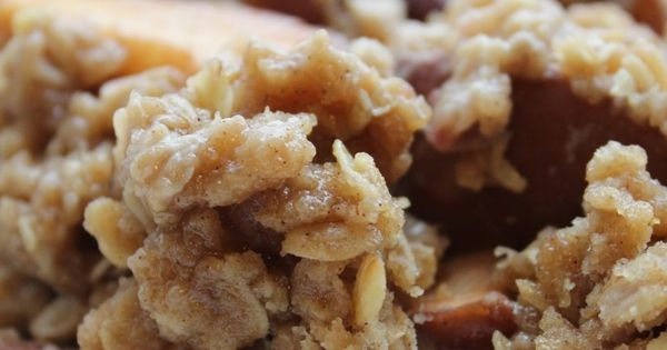 Crock Pot Apple Crisp Recipe 4-5 cups apples, sliced 1 cup of