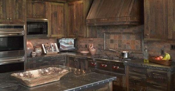 Badass Kitchen For The Future Home Pinterest