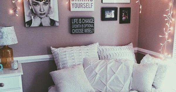 Pinterest nuggwifee bedrooms pinterest facebook for Dusty rose bedroom ideas