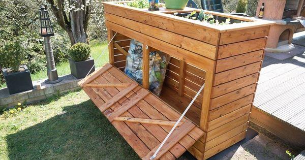 Construisez Vous Meme Un Lit Sureleve Avec Une Poubelle Combinee Projet De Bricolage Inventeur Et In 2020 Diy Planters Indoor Fence Design Diy Fence