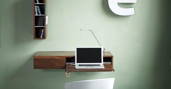 Fabriquer un bureau soi m me 22 id es inspirantes baguettes bureaux et p - Fabriquer un bureau informatique ...