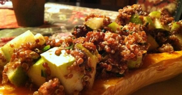 Stuffed butternut squash, Butternut squash and Squashes on Pinterest