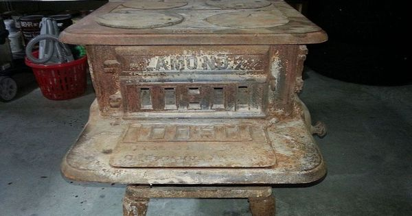 How To Restore An Old Cast Iron Wood Burning Stove Wood