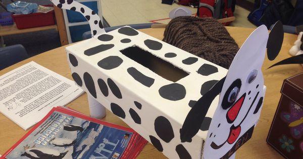 3rd Grade Dog Valentine Box Animal Classification Project