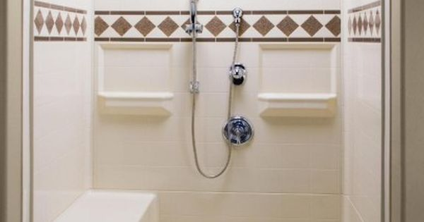 Sleek Bath Shower Kits Seat Bathroom Ideas Pinterest
