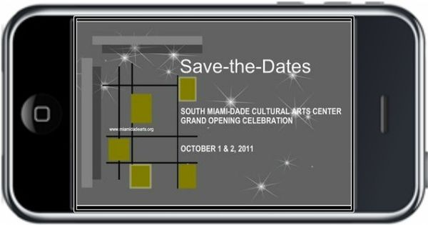 Text Message Save-the-dates, Invitations And Business