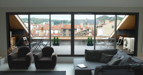 loft conversion roof balcony terrasse trop zienne pinterest recherche balcons et int rieur. Black Bedroom Furniture Sets. Home Design Ideas