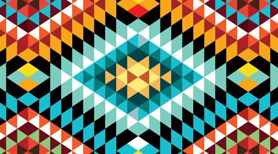 Tribal African Pattern Poster Dedicated To My African Beauty