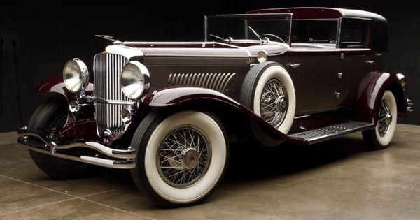 1930 Dueseberg Model J Murphy Town Car--- I def want to be
