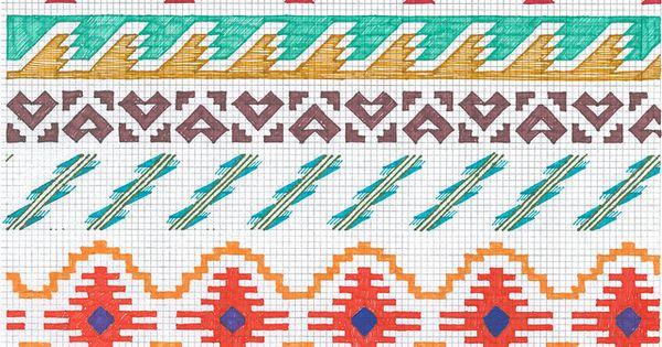 Native Pattern Cross Stitch