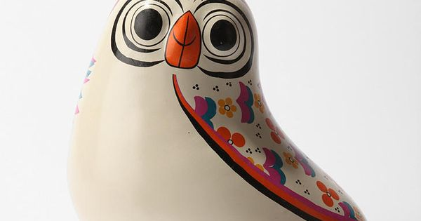 """Rosa The Owl Bank""- cute on a dresser or bookshelf"