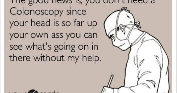 Pinterest Jokes: Colonoscopy Jokes