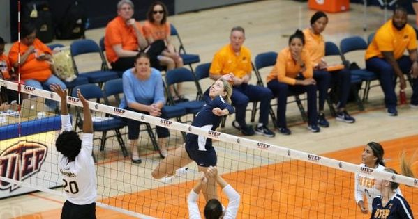 Utep Volleyball Pushes Utsa To The Brink With Images Volleyball Volleyball Team Conference Usa