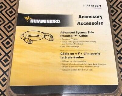 Humminbird AS SIDB Y Transducer Adapter Cable 720055-1