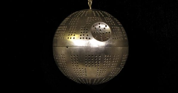 Death Star Tea Ball.... freaking awesome!!!