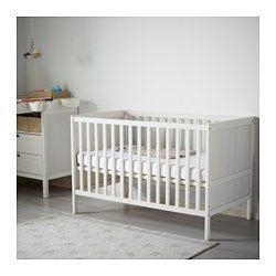 Sundvik Crib White 27 1 2x52 Ikea Sundvik Ikea Crib Ikea Cot