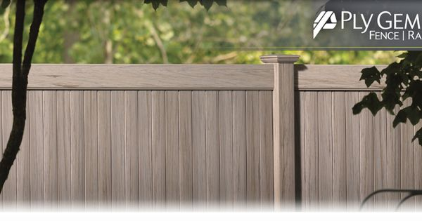 Ply Gem Fence and Railing. A Brand you can trust. Future ...