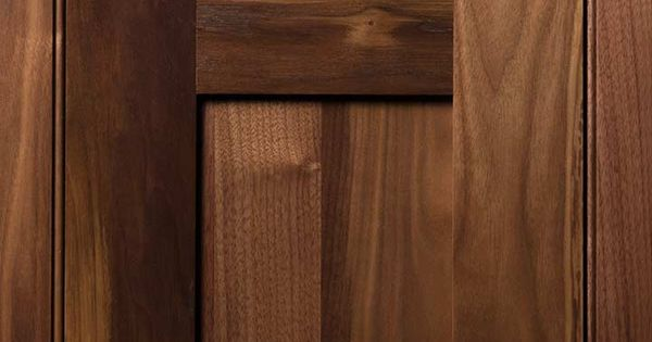 Quaker 3 Door Done In Walnut Natural Finish You Wood Love Pinterest Doors Kitchens And