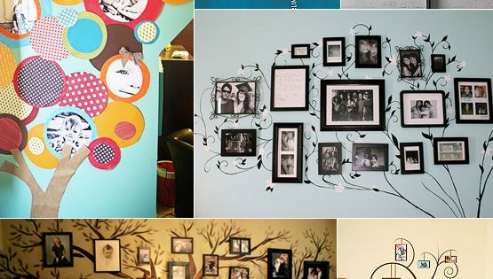 Cute ideas of family trees