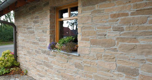 verklinkerung der fassade im modernen aber rustikalen naturstein look die de ryck by weser. Black Bedroom Furniture Sets. Home Design Ideas