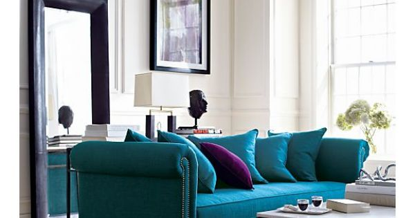 Tailor Sofa in Sofas | Crate and Barrel - this sofa would