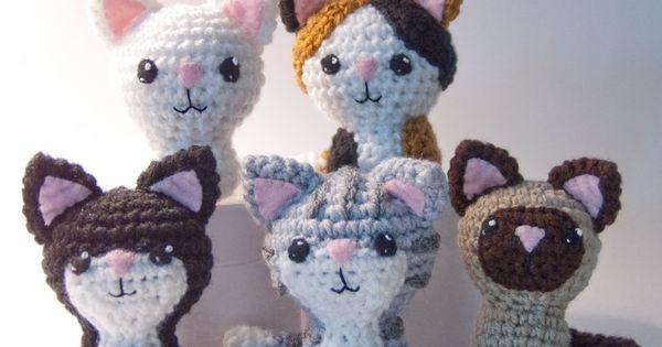 CraftyAlien? - Swat Team Kitties Crochet Amigurumi Pattern ...