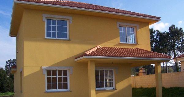 Pintura para exterior de casas tipos y colores casa web - Pinturas para exterior ...