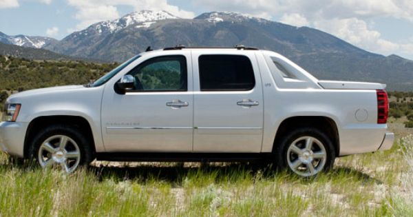 Chevy Avalanche Ltz This Body Style Continued From 2007 To 2013