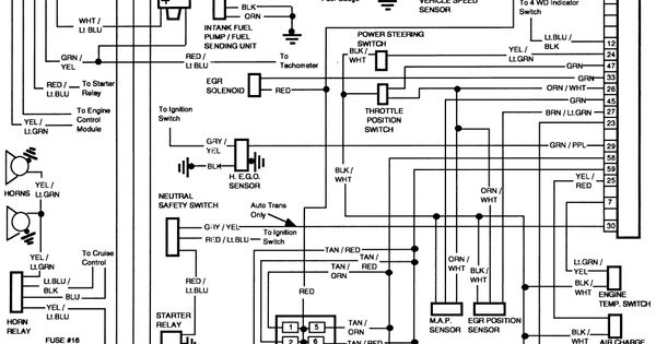 Wiring Diagram For Lights In A 1986 Ford F150