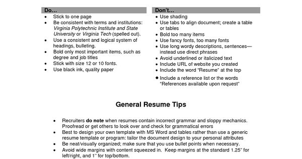 Resume Objective Examples Good Statement Writing Great Free   Fonts To Use  On Resume  Fonts To Use For Resume
